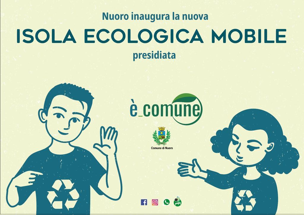 Isola ecologica mobile presidiata - Depliant
